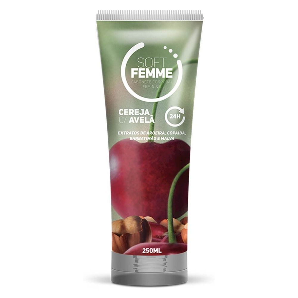 SABONETE ÍNTIMO SOFT FEMME 250ML SOFT LOVE