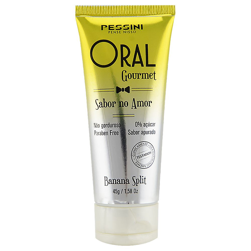 GEL BEIJÁVEL ORAL GOURMET 35ML PESSINI